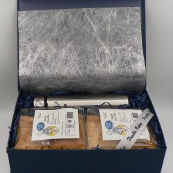 Big gift box#3, rusks & travel flask