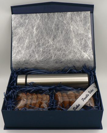 Small Gift box with travel flask